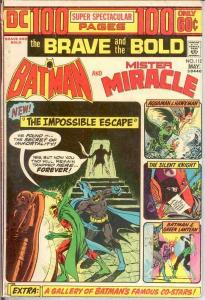 BRAVE & BOLD 112 VG 100 PAGE GIANTS  May 1974