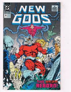 New Gods #19 VF/NM DC Comics Comic Book Evanier Aug 1990 DE45