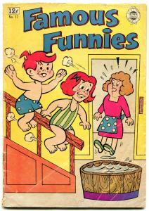 Famous Funnies #17 1964-Double Trouble Kids-Li'l Mush-Golden Age reprint VG