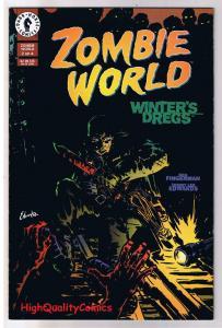 ZOMBIE WORLD : WINTER'S DREGS #2, NM, Bob Fingerman,1998, more Horror in sto