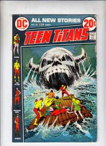 Teen Titans, The #42 (Dec-72) VG/FN Mid-Grade Kid Flash, Robin, Wonder Girl, ...