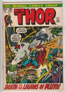 Thor, the Mighty #199 (May-72) VF High-Grade Thor