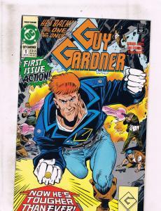 Lot of 6 Guy Gardner Warriors DC Comic Books #1 2 3 6 8 10 LH18