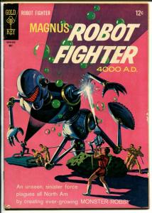 Magnus Robot Fighter #14 1966-Gold Key-Russ Manning-robot cover-VG