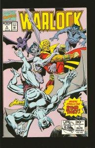 Marvel Comics Warlock Vol 2 No 4 August 1992