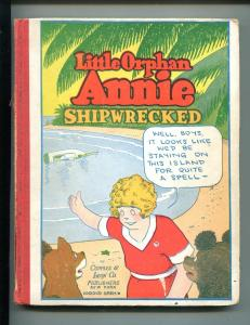 LITTLE ORPHAN ANNIE #6-1931-HAROLD GRAY-SHIPWRECKED-vg/fn