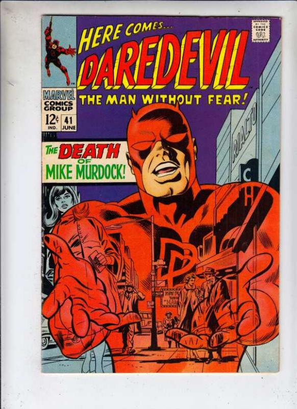 Daredevil #41 (Jun-68) VF High-Grade Daredevil