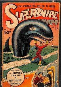 Supersnipe comics #37 GD 2.0