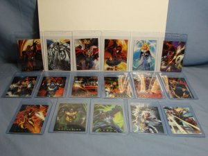 1994 Flair Marvel Comics Art Cards POWER BLAST Insert Set Missing 1 Card L@@K