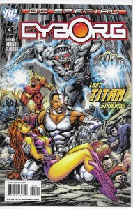 DC Special: Cyborg (2006) #4 of 5 FN Sable/Magno, Teen Titans