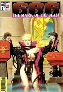 666: The Mark of the Beast #1 VF/NM; Fleetway Quality | save on shipping - detai