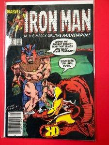 IRON MAN V1 #181 1983 MARVEL / NEWSSTAND / MID-GRADE QUALITY+