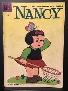 Nancy #158 (1955) VG 4.0 Peanuts Story