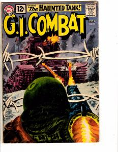 GI Combat # 92 VG/FN DC Comic Book Feat. Haunted Tank War Navy Air Force J207
