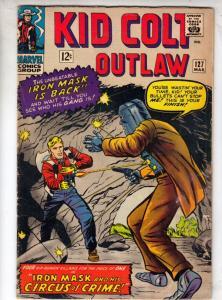 Kid Colt Outlaw #127 (Mar-66) VF/NM High-Grade Kid Colt