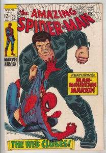 Amazing Spider-Man #73 (Jun-69) VF High-Grade Spider-Man