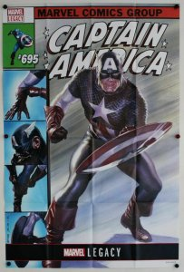 Captain America #695 Lenticular Cvr Folded Promo Poster [P41] (36 x 24) -New!