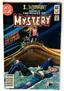 House of Mystery #307 DC 1982 VF- Bronze Age Comic Book 1st Print