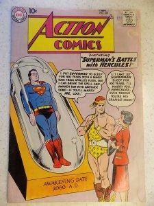 ACTION COMICS # 268 DC SUPERMAN ADVENTURE SUPERGIRL HERCULES