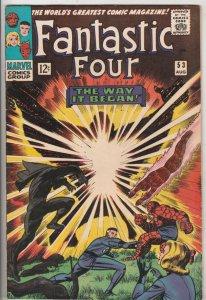Fantastic Four #53 (Aug-66) NM- High-Grade Fantastic Four, Mr. Fantastic (Ree...