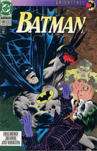 Batman (1940 series) #496, NM- (Stock photo)