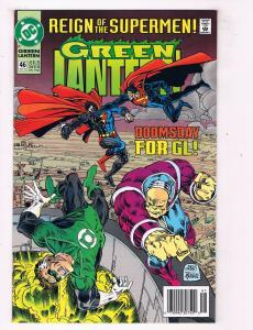 Green Lantern #46DC Comic Book Reign of Supermen Doomsday1990 2nd Series HH1