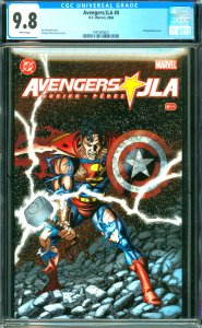 Avengers and JLA #4 CGC 9.8