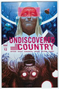 Undiscovered Country # 12 Variant Cover NM Image Comics