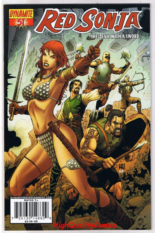 RED SONJA #51, NM-, She-Devil, Sword, Walt Geovani, 2005, more RS in store