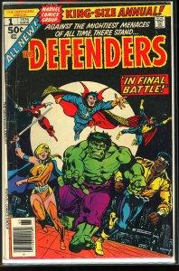 Defenders Annual #1 (1976)