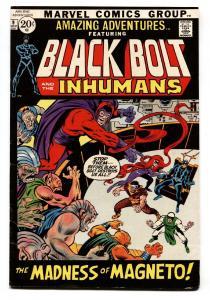 AMAZING ADVENTURES #9-comic book BLACK BOLT/INHUMANS