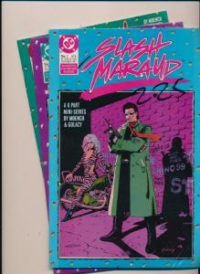 DC COMICS Lot of 3 SLASH MARAUD #1-3 (of 6 part series) FINE/VERY FINE (HX912)