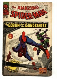 Amazing Spider-Man #23 Third Green Goblin 1965 Steve Ditko Marvel vg-