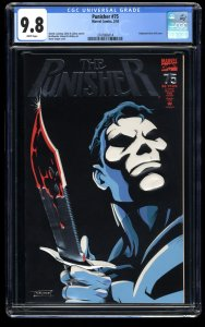 Punisher 1987 #75 CGC NM/M 9.8 White Pages