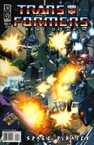 Transformers, The: Best of UK: Space Pirates #4A VF/NM; IDW | save on shipping -
