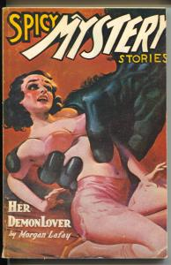 Spicy Mystery stories 1975-Odysset-reprints Spicy Mystery pulp from 7/1936-VF