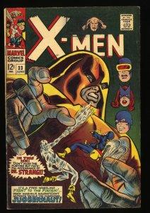 X-Men #33 VG/FN 5.0 Juggernaut!