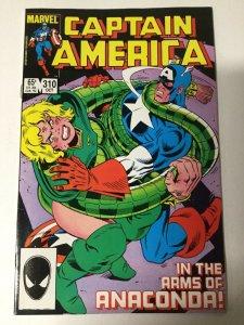 Captain America 310 Near Mint- 9.2 Marvel
