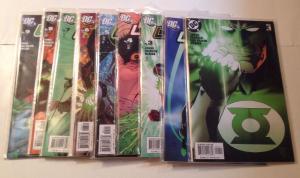 Green Lantern 1 2 3 4 5 6 7 8 9 Near Mint 2005 Johns Van Sciiver