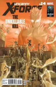 Uncanny X-Force #24 VF/NM; Marvel   save on shipping - details inside