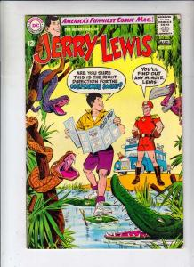 Jerry Lewis, the Adventures of #107 (Aug-68) VF- High-Grade Jerry Lewis