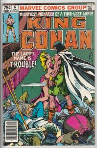 King Conan #6 (Jun-81) NM- High-Grade Conan the Barbarian