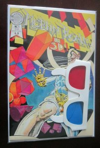 Merlin Realm 3D #1 with glasses 9.0 NM (1985)