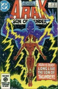 DC ARAK SON OF THUNDER #33 VF+