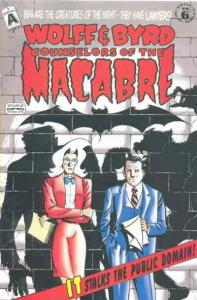 Wolff And Byrd, Counselors of the Macabre #6 FN; Exhibit A | save on shipping -