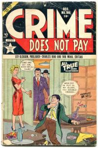 CRIME DOES NOT PAY #105 1951-LEV GLEASON-CRIME-'49 FORD G-
