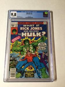 What If? 12 Rick Jones Had Become The Hulk Cgc 9.8 White Pages