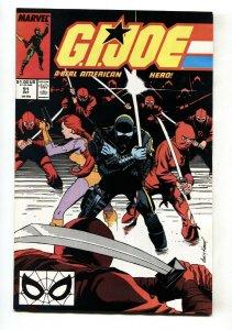 G.I. JOE #91 Snake Eyes issue Marvel comic book