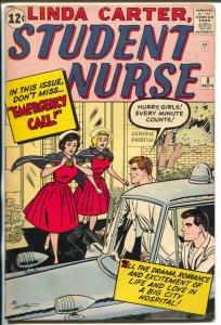 Linda Carter, Student Nurse #8 1962-Marvel-paper dolls-fashions-final issue-VG+