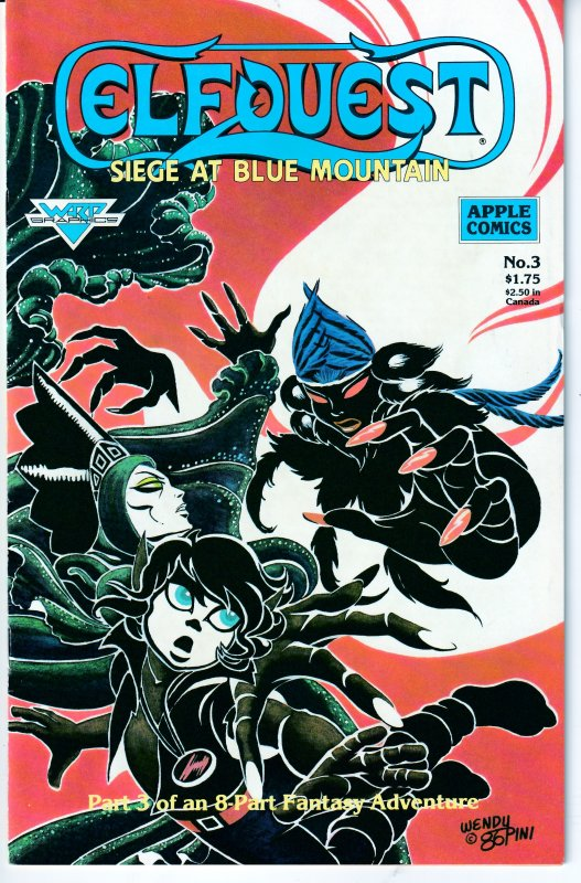 Elfquest-Siege on Blue Mountain#1,2,3,4,5,6,7,8  Plus 25th Anniversary Special